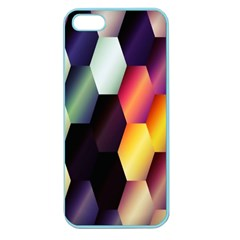 Colorful Hexagon Pattern Apple Seamless iPhone 5 Case (Color)
