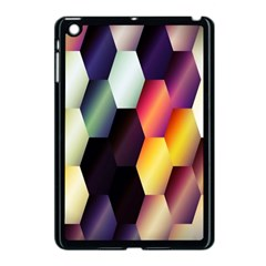 Colorful Hexagon Pattern Apple Ipad Mini Case (black)