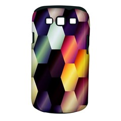 Colorful Hexagon Pattern Samsung Galaxy S Iii Classic Hardshell Case (pc+silicone)