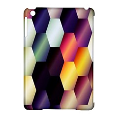 Colorful Hexagon Pattern Apple Ipad Mini Hardshell Case (compatible With Smart Cover)