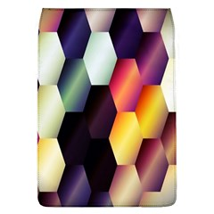 Colorful Hexagon Pattern Flap Covers (L)