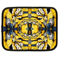 Minions FEEDBACK 3D EFFECT   Netbook Case (Large)