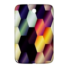 Colorful Hexagon Pattern Samsung Galaxy Note 8 0 N5100 Hardshell Case