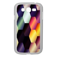 Colorful Hexagon Pattern Samsung Galaxy Grand Duos I9082 Case (white)