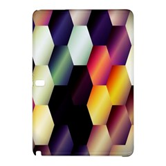 Colorful Hexagon Pattern Samsung Galaxy Tab Pro 10 1 Hardshell Case