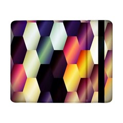 Colorful Hexagon Pattern Samsung Galaxy Tab Pro 8 4  Flip Case