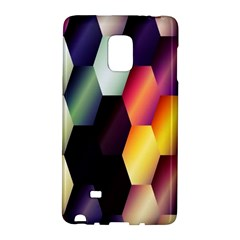 Colorful Hexagon Pattern Galaxy Note Edge