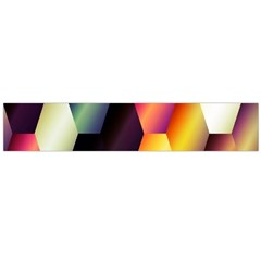 Colorful Hexagon Pattern Flano Scarf (Large)