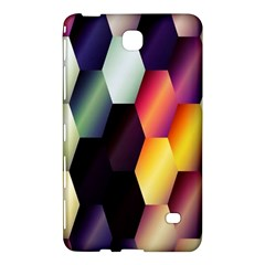 Colorful Hexagon Pattern Samsung Galaxy Tab 4 (8 ) Hardshell Case