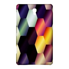 Colorful Hexagon Pattern Samsung Galaxy Tab S (8 4 ) Hardshell Case