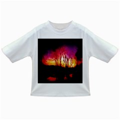 Fall Forest Background Infant/Toddler T-Shirts