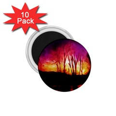 Fall Forest Background 1 75  Magnets (10 Pack)