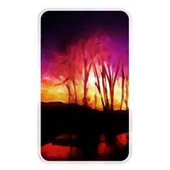Fall Forest Background Memory Card Reader