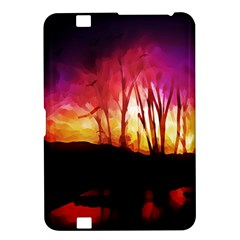 Fall Forest Background Kindle Fire Hd 8 9
