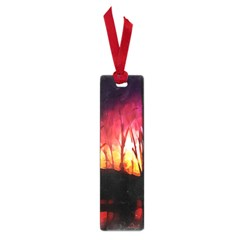 Fall Forest Background Small Book Marks