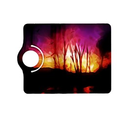 Fall Forest Background Kindle Fire HD (2013) Flip 360 Case