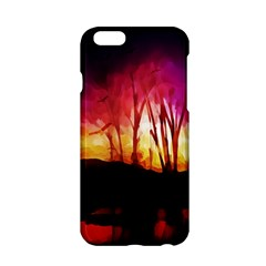 Fall Forest Background Apple iPhone 6/6S Hardshell Case