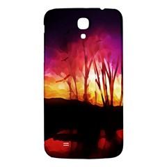 Fall Forest Background Samsung Galaxy Mega I9200 Hardshell Back Case