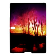 Fall Forest Background Samsung Galaxy Tab S (10.5 ) Hardshell Case