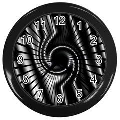 Abstract Background Resembling To Metal Grid Wall Clocks (black)