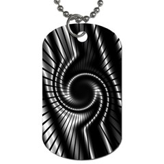 Abstract Background Resembling To Metal Grid Dog Tag (two Sides)