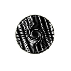 Abstract Background Resembling To Metal Grid Hat Clip Ball Marker