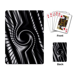 Abstract Background Resembling To Metal Grid Playing Card