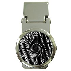 Abstract Background Resembling To Metal Grid Money Clip Watches