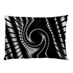 Abstract Background Resembling To Metal Grid Pillow Case