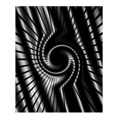 Abstract Background Resembling To Metal Grid Shower Curtain 60  x 72  (Medium)