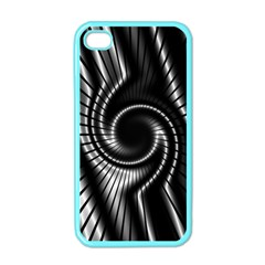 Abstract Background Resembling To Metal Grid Apple Iphone 4 Case (color)