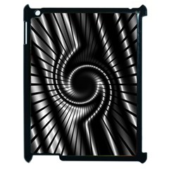 Abstract Background Resembling To Metal Grid Apple iPad 2 Case (Black)
