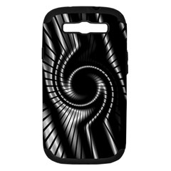 Abstract Background Resembling To Metal Grid Samsung Galaxy S Iii Hardshell Case (pc+silicone)
