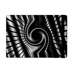 Abstract Background Resembling To Metal Grid Apple iPad Mini Flip Case