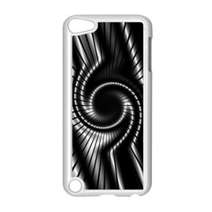 Abstract Background Resembling To Metal Grid Apple iPod Touch 5 Case (White)