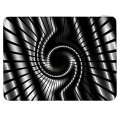 Abstract Background Resembling To Metal Grid Samsung Galaxy Tab 7  P1000 Flip Case