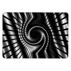 Abstract Background Resembling To Metal Grid Samsung Galaxy Tab 8 9  P7300 Flip Case