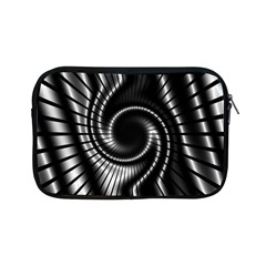 Abstract Background Resembling To Metal Grid Apple iPad Mini Zipper Cases