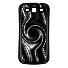 Abstract Background Resembling To Metal Grid Samsung Galaxy S3 Back Case (black)
