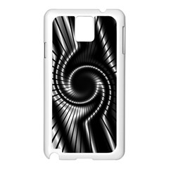 Abstract Background Resembling To Metal Grid Samsung Galaxy Note 3 N9005 Case (white)