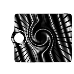 Abstract Background Resembling To Metal Grid Kindle Fire Hdx 8 9  Flip 360 Case
