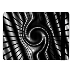 Abstract Background Resembling To Metal Grid Samsung Galaxy Tab Pro 12.2  Flip Case