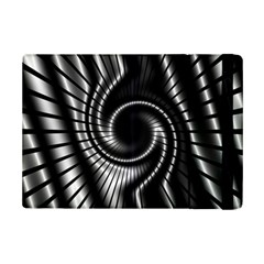Abstract Background Resembling To Metal Grid Ipad Mini 2 Flip Cases