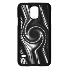 Abstract Background Resembling To Metal Grid Samsung Galaxy S5 Case (black)