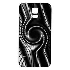 Abstract Background Resembling To Metal Grid Samsung Galaxy S5 Back Case (White)