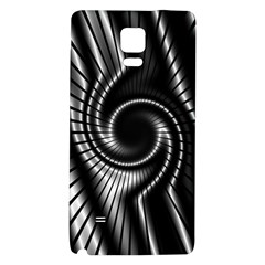 Abstract Background Resembling To Metal Grid Galaxy Note 4 Back Case