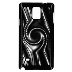 Abstract Background Resembling To Metal Grid Samsung Galaxy Note 4 Case (black)