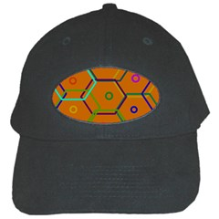 Color Bee Hive Color Bee Hive Pattern Black Cap