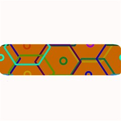 Color Bee Hive Color Bee Hive Pattern Large Bar Mats