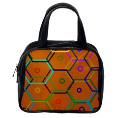 Color Bee Hive Color Bee Hive Pattern Classic Handbags (one Side)